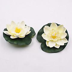 Недорогие Женские украшения-1 Филиал Пластик Другое лотос Букеты на стол Искусственные Цветы