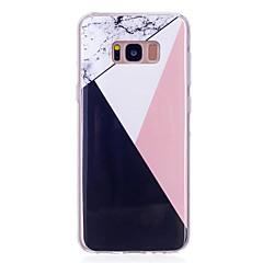 voordelige Galaxy S6 Edge Hoesjes / covers-hoesje Voor Samsung Galaxy S8 Plus S8 IMD Achterkant Marmer Zacht TPU voor S8 Plus S8 S7 edge S7 S6 edge S6 S5 Mini S5