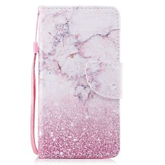 billige Etuier til Xiaomi-Etui Til Xiaomi Redmi Note 4X Redmi Note 4 Kortholder Pung Med stativ Flip Magnetisk Mønster Fuldt etui Marmor Hårdt PU Læder for Xiaomi