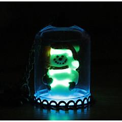 Жен. Ожерелья с подвесками , Rabbit Кошка Геометрической формы Рождественская елка Сплав Милый С подсветкой Бижутерия Назначение Рождество