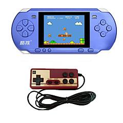 お買い得  ゲーム機-rs-15クラシックレトロゲームコンソールハンドヘルドポータブル3.25以上300ゲームポケットフリーカートリッジ第2プレイヤーコントローラ