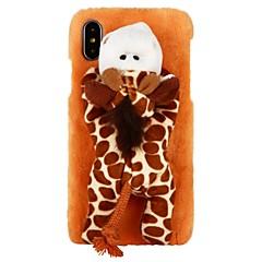 Недорогие Кейсы для iPhone-Кейс для Назначение Apple iPhone X iPhone 8 iPhone 8 Plus iPhone 6 iPhone 6 Plus iPhone 7 Plus iPhone 7 болотистый Своими руками Кейс на