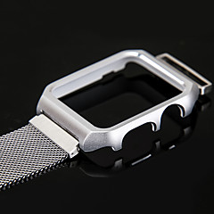 voordelige Apple Watch-bandjes-Horlogeband voor Apple Watch Series 3 / 2 / 1 Apple Polsband Milanese lus DHZ Gereedschap Roestvrij staal