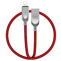 voordelige -USB 2.0 Kabel, USB 2.0 to Lightning Kabel Mannelijk - Vrouwelijk 1.2m (4ft)