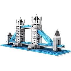 tanie -Klocki Bloki diamentowe LOZ Zabawki Znane budynki Architektura most Londyński Architektura Non Toxic DIY Klasyczny DZIECIĘCE Dla dorosłych