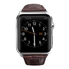 abordables Correas para Apple Watch-Ver Banda para Apple Watch Series 3 / 2 / 1 Apple Hebilla de la mariposa Cuero Auténtico Correa de Muñeca