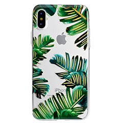 cheap iPhone 5S / SE Cases-Case For Apple iPhone X iPhone 8 Plus Pattern Back Cover Flower Soft TPU for iPhone X iPhone 8 Plus iPhone 8 iPhone 7 Plus iPhone 7