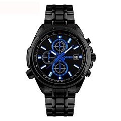 Men's Kid's Casual Watch Sport Watch Fashion Watch Chinese Quartz Calendar / date / day Water Resistant / Water Proof Large Dial Alloy