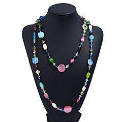 preiswerte Halsketten-Damen Opal Ketten - Opal Modisch Regenbogen Modische Halsketten Schmuck Für Alltag, Formal