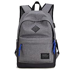 """preiswerte Laptop Taschen-Segeltuch Solide / Punkt Rucksäcke 15 """"Laptop"""