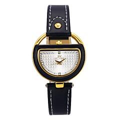 billige Leopard-ure-Dame Børn Modeur Unik Creative Watch Simuleret Diamant Ur Japansk Quartz Kronograf Vandafvisende Afslappet Ur Ægte læder Bånd Mat Sort