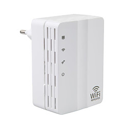 abordables Antenas WiFi-repetidor extensor wifi 300Mbps 2.4GHz Extensor de alcance wifi AD-607U