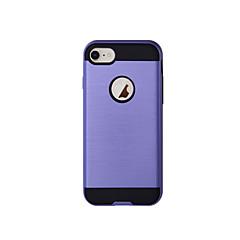Кейс для Назначение Apple iPhone 8 iPhone 8 Plus Защита от удара Чехол Сплошной цвет Твердый TPU для iPhone 8 Pluss iPhone 8 iPhone 7