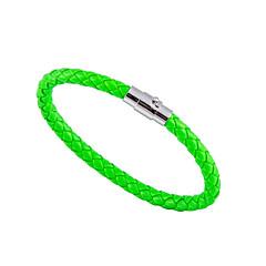 preiswerte Armbänder-Herrn Damen Armreife - Einfach, Modisch Armbänder Grün / Blau / Rosa Für Geschenk Alltag