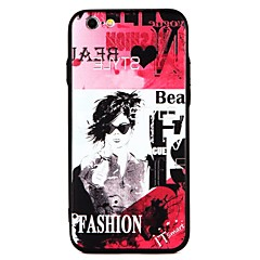 olcso iPhone 6 tokok-Case Kompatibilitás Apple iPhone 7 iPhone 7 Plus iPhone 6 iPhone 6 Plus Dombornyomott Hátlap Szexi lány Punk Kemény PC mert iPhone 7 Plus