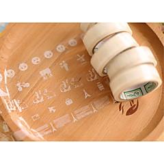 Plain Weave Rulers & Tape Measures 1pc Transparent