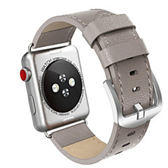 hesapli Apple Watch Kordonları-Watch Band için Apple Watch Series 3 / 2 / 1 Apple Klasik Toka Deri Bilek Askısı
