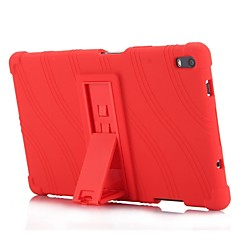 cheap Tablet Cases-Case For Lenovo Lenovo Tab 4 8 Plus with Stand Back Cover Solid Colored / Striped / Pattern Soft Silicone for Lenovo Tab 4 8 Plus