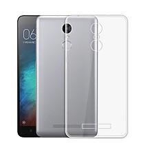 Недорогие Чехлы и кейсы для Xiaomi-Кейс для Назначение Xiaomi со стендом Кейс на заднюю панель Сплошной цвет Мягкий ТПУ для Xiaomi Redmi Note 3