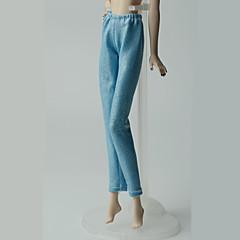 abordables Ropa para Barbies-Pantalones Pantalones, Pantalonetas y Licras por Muñeca Barbie  Azul Claro Pantalones por Chica de muñeca de juguete