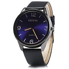 preiswerte Herrenuhren-JUBAOLI Herrn / Damen Armbanduhr Chinesisch Armbanduhren für den Alltag / Cool Legierung Band Glanz Schwarz / Weiß