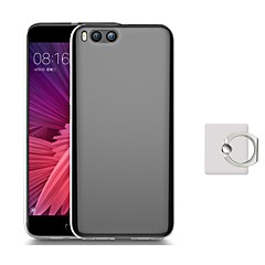 Недорогие Чехлы и кейсы для Xiaomi-Кейс для Назначение Xiaomi Mi 6 Plus Mi 6 со стендом Кейс на заднюю панель Сплошной цвет Мягкий ТПУ для Mi 6 Plus Xiaomi Mi 6