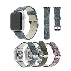 Nézd Band mert Apple Watch Series 3 / 2 / 1 Apple Csuklópánt Hagyományos csat PU