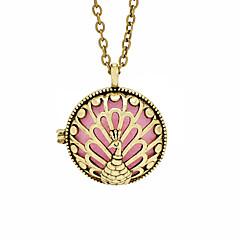 preiswerte Halsketten-Damen Anhängerketten - Pfau Retro, Modisch Bronze Modische Halsketten Schmuck Für Alltag