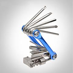 abordables Herramientas, Limpiadores y Lubricantes-Kit de reparación Kit de reparación Ciclismo de Pista / Ciclismo Recreacional / Ejercicio al Aire Libre Acero de carbono Dorado / Azul