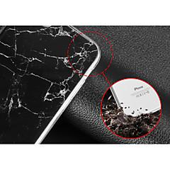 Недорогие Кейсы для iPhone 7-Кейс для Назначение Apple Кейс для iPhone 5 iPhone 6 iPhone 7 IMD Кейс на заднюю панель Мрамор Мягкий ТПУ для iPhone 7 Plus iPhone 7