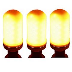 abordables Bombillas LED-SENCART 3pcs 700 lm GU10 E26/E27 E27 / E14 96 leds SMD 2835 Smart Decorativa Luz LED Blanco Cálido AC 85-265V