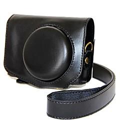 お買い得  ケース、バッグ & ストラップ-dengpin puレザーカメラケースのカバーcanon powershot g7 x mark ii g7x g7x2(色の組み合わせ)