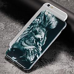 Недорогие Кейсы для iPhone 5-Кейс для Назначение Apple iPhone X iPhone 8 Ультратонкий С узором Задняя крышка Животное Мягкий TPU для iPhone X iPhone 8 Pluss iPhone 8