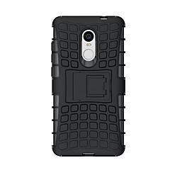 billige Etuier til Xiaomi-Etui Til Xiaomi Redmi Note 4 Stødsikker Med stativ Bagcover Rustning Hårdt Silikone for Xiaomi Redmi Note 4