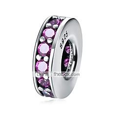 cheap Beads-DIY Jewelry 1 Beads Light Pink Blue Green Fuchsia White Round Bead 1 DIY Bracelet Necklace