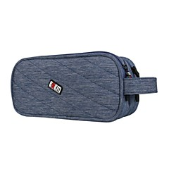 cheap Mac Accessories-Storage Bags for Solid Colored Polyester / Nylon Power Supply / Flash Drive / Power Bank