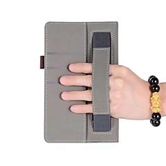 abordables Fundas para Tableta-caja de cuero macizo patrón con soporte de mano para huawei mediapad t3 7.0 pulgadas tablet pc