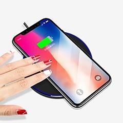お買い得  ワイヤレスチャージャー-ワイヤレスチャージャー 電話USB充電器 USB ワイヤレスチャージャー Qi USBポート×1 1A iPhone X iPhone 8 Plus iPhone 8 S8 S7 Active S7 edge S7 S6 edge plus S6 edge S6 Nokia