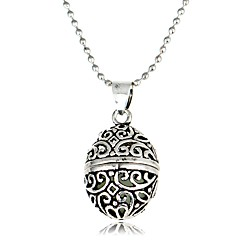 Недорогие Ожерелья-Муж. Жен. Геометрической формы Шарообразные Классика Винтаж европейский Ожерелья с подвесками , Светящийся камень Сплав Ожерелья с