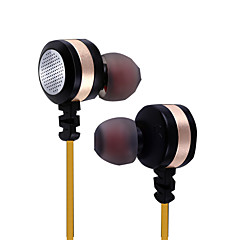 cheap Headsets & Headphones-PHB EM014 In Ear Wired Headphones Dynamic Plastic Pro Audio Earphone with Volume Control / with Microphone Headset
