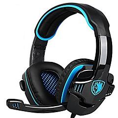voordelige Headsets & Hoofdtelefoons-sades 708gt gaming-headset met microfoon voor computer pc-gamer