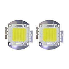 halpa LED:t-70w talli 5600lm 3000-3200k / 6000-6200k lämmin valkoinen / valkoinen led-siru dc30-36v 2kpl
