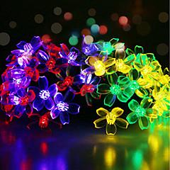 preiswerte LED Lichtstreifen-GMY® 6m Leuchtgirlanden 50 LEDs 6M Lichterkette / 1Set Montagehalterung Mehrfarbig Dekorativ <5 V 1set / IP65