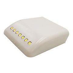 preiswerte Ausgefallene LED-Beleuchtung-1pc intelligente Nachtlicht aaa Batterien angetriebene intelligente Schrankgarderobe drahtlosen Selbstschalter