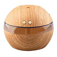 abordables Hogar Inteligente-yk30 mini fabricante de niebla portátil aroma difusor de aceite esencial humidificador de aroma ultrasónico difusor usb de madera