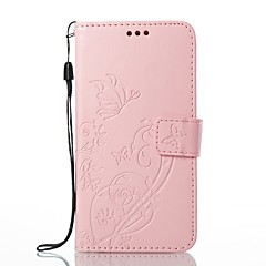 cheap Sizzling Savings-Case For Apple iPhone X iPhone 8 Card Holder Wallet with Stand Full Body Cases Flower Hard PU Leather for iPhone X iPhone 8 Plus iPhone 8