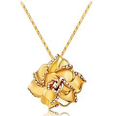 preiswerte Halsketten-Damen Anhängerketten - vergoldet Klassisch Gold Modische Halsketten Für Geschenk, Alltag