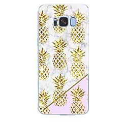 voordelige Galaxy S6 Edge Hoesjes / covers-hoesje Voor Samsung Galaxy S8 Plus S8 Patroon Achterkant Marmer Fruit Zacht TPU voor S8 Plus S8 S7 edge S7 S6 edge plus S6 edge S6