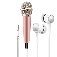 abordables Accesorios para Juegos de Teléfono Móvil-Micrófonos Cable Con cable Android IOS iPod Tocuh iPad iPhone