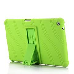preiswerte Tablet-Hüllen-Hülle Für HUAWEI MediaPad T3 8.0 mit Halterung Rückseite Solide / Gestreift / Muster Weich Silikon für Huawei MediaPad T3 8.0